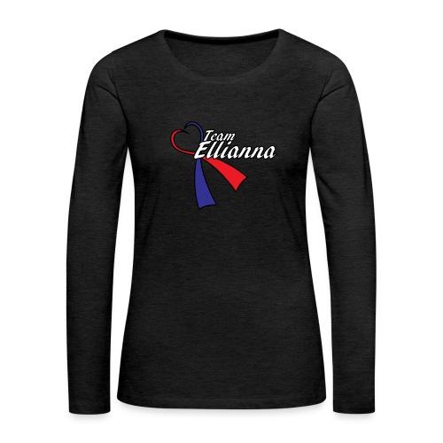 Team Ellie Women's Premium Hoodie - Women's Premium Long Sleeve T-Shirt