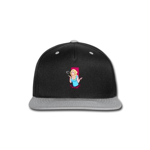 Men's Hoodie - Snap-back Baseball Cap
