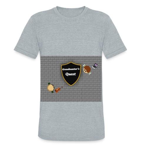 Grandmaster Hoodie - Unisex Tri-Blend T-Shirt