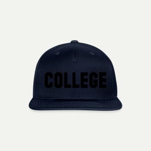 College - Snap-back Baseball Cap