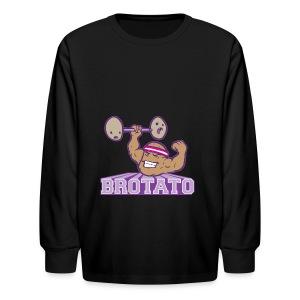 Brotato Hoodie (Premium) - Kids' Long Sleeve T-Shirt