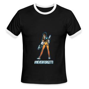 Tracer Hoodie - Male (Premium) - Men's Ringer T-Shirt