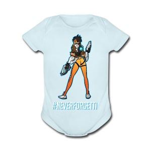 Tracer Hoodie - Male (Premium) - Short Sleeve Baby Bodysuit