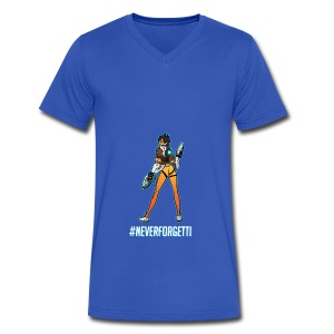 Tracer Hoodie - Male (Premium) - Men's V-Neck T-Shirt by Canvas