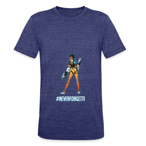 Tracer Hoodie - Male (Premium) - Unisex Tri-Blend T-Shirt