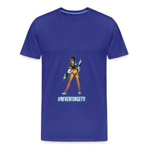 Tracer Hoodie - Male (Premium) - Men's Premium T-Shirt
