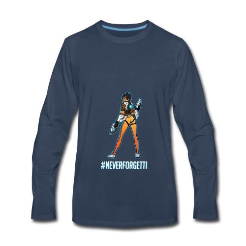 Tracer Hoodie - Male (Premium) - Men's Premium Long Sleeve T-Shirt