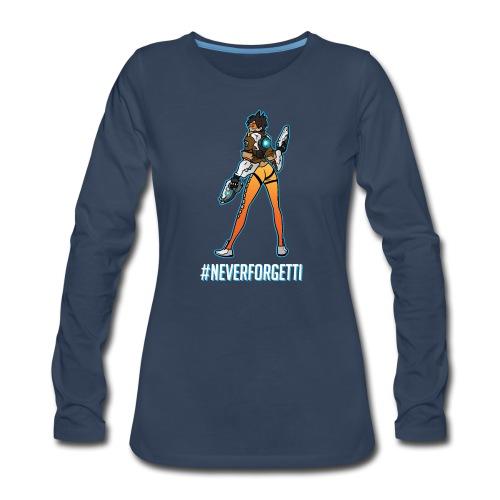 Tracer Hoodie - Male (Premium) - Women's Premium Long Sleeve T-Shirt