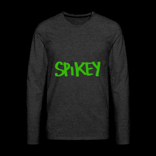 Spikey Hoodie - Men's Premium Long Sleeve T-Shirt