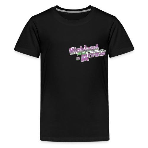 Men's HA Logo Hoodie - Kids' Premium T-Shirt
