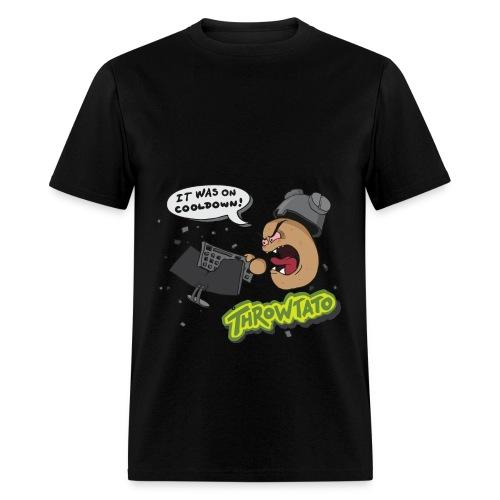Throwtato Hoodie (Premium) - Men's T-Shirt