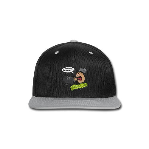 Throwtato Hoodie (Premium) - Snap-back Baseball Cap