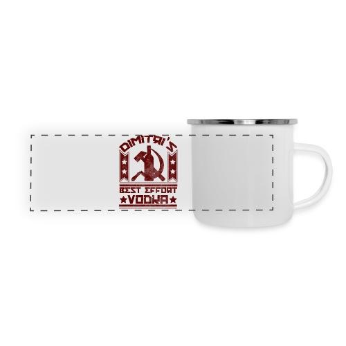 Dimitri's Best Effort Vodka Premium Hoodie - Panoramic Camper Mug