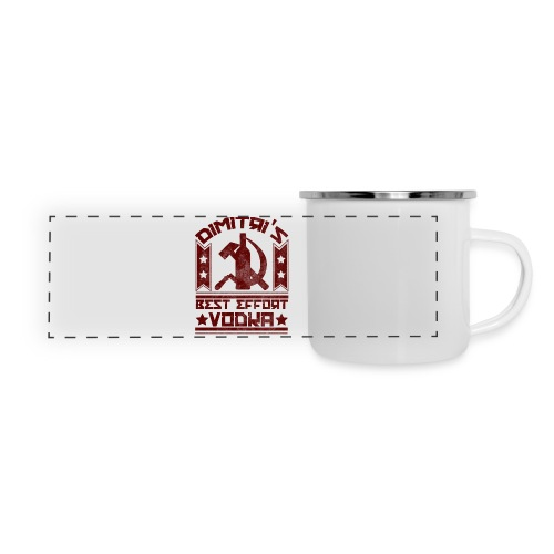 Dimitri's Best Effort Vodka Premium Hoodie - Panoramic Camper Mug