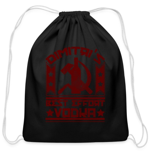 Dimitri's Best Effort Vodka Premium Hoodie - Cotton Drawstring Bag