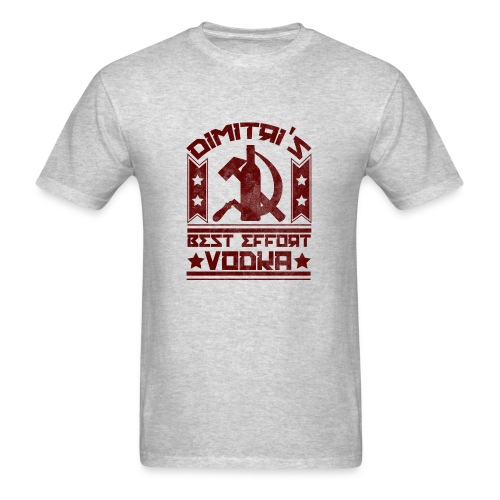 Dimitri's Best Effort Vodka Premium Hoodie - Men's T-Shirt