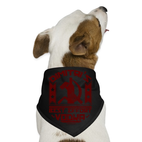 Dimitri's Best Effort Vodka Premium Hoodie - Dog Bandana