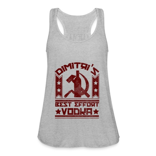 Dimitri's Best Effort Vodka Premium Hoodie - Women's Flowy Tank Top by Bella