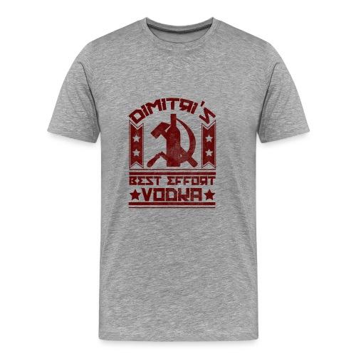 Dimitri's Best Effort Vodka Premium Hoodie - Men's Premium T-Shirt