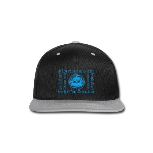 We All Wear Masks Hoodie - Snap-back Baseball Cap
