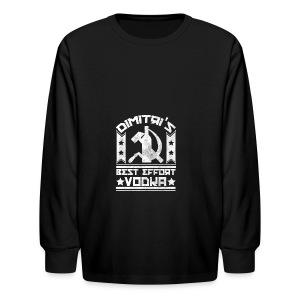 Dimitri's Best Effort Vodka Premium Hoodie - Kids' Long Sleeve T-Shirt