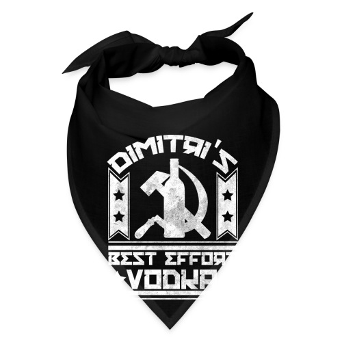 Dimitri's Best Effort Vodka Premium Hoodie - Bandana
