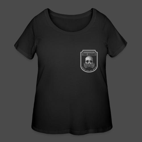The Khans Hoodie (Backprint) - Women's Curvy T-Shirt