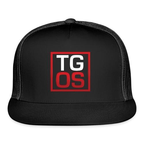 Men's Black TGOS Hoodie - Trucker Cap