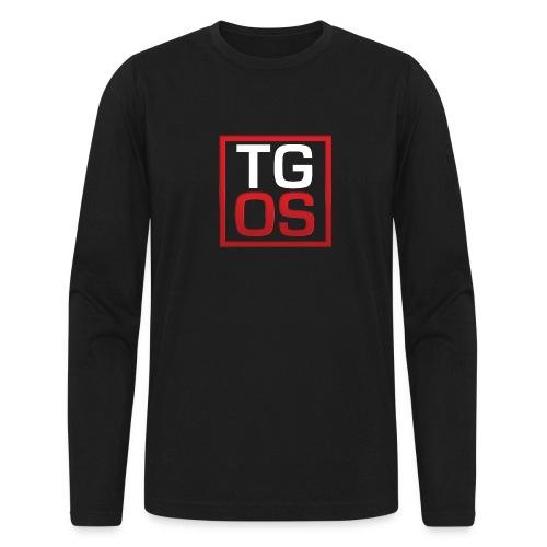 Men's Black TGOS Hoodie - Men's Long Sleeve T-Shirt by Next Level
