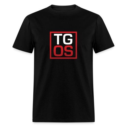 Men's Black TGOS Hoodie - Men's T-Shirt