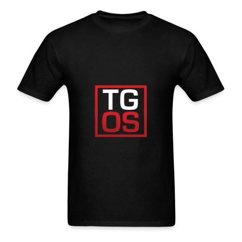 Men's Black TGOS Hoodie - Men's T-Shirt