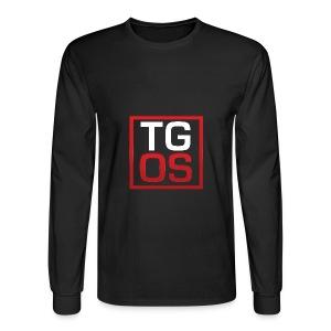 Men's Black TGOS Hoodie - Men's Long Sleeve T-Shirt