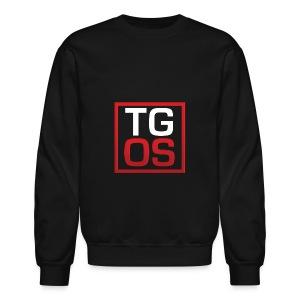 Men's Black TGOS Hoodie - Crewneck Sweatshirt