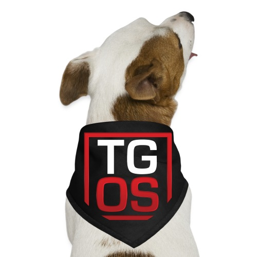 Men's Black TGOS Hoodie - Dog Bandana