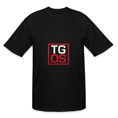Men's Black TGOS Hoodie - Men's Tall T-Shirt