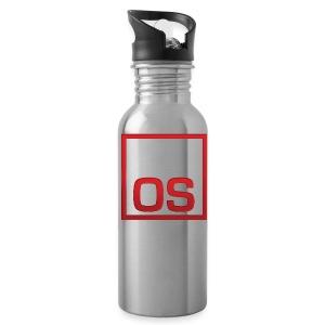 Men's Black TGOS Hoodie - Water Bottle