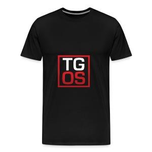Men's Black TGOS Hoodie - Men's Premium T-Shirt