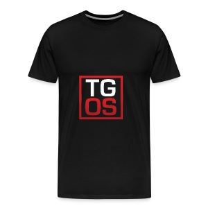 Men's Black TGOS Hoodie - Men's Premium T-Shirt