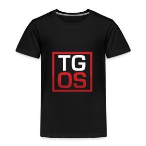Men's Black TGOS Hoodie - Toddler Premium T-Shirt