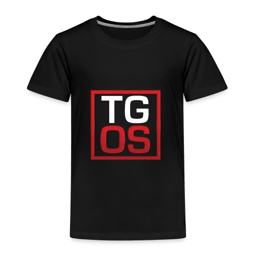 Men's Black TGOS Hoodie - Toddler Premium T-Shirt