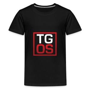 Men's Black TGOS Hoodie - Kids' Premium T-Shirt