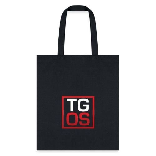 Men's Black TGOS Hoodie - Tote Bag