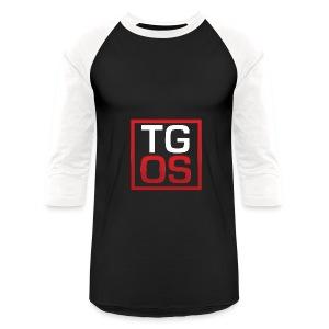 Men's Black TGOS Hoodie - Baseball T-Shirt