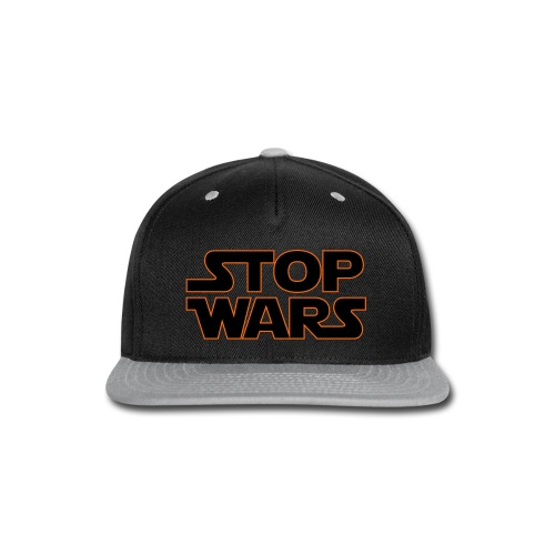 Stop Wars - Snap-back Baseball Cap