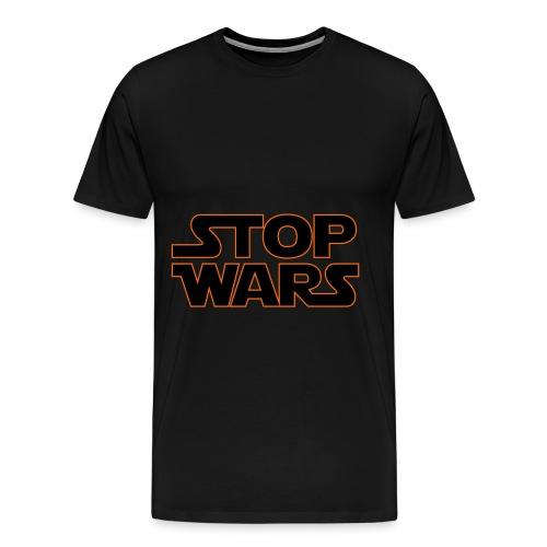 Stop Wars - Men's Premium T-Shirt