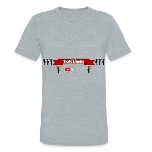Hoodie Banner and SkateMan! - Unisex Tri-Blend T-Shirt
