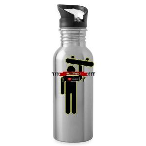 Hoodie Banner and SkateMan! - Water Bottle