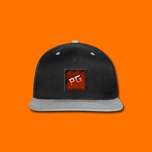 Pharmaceutical Gaming Logo Men's Black Hoodie - Snap-back Baseball Cap