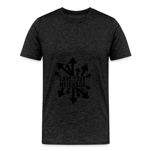Love Your Neighbor - Hoodie - Men's Premium T-Shirt
