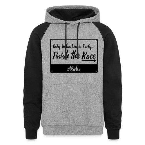 OnlyJudasLeavesEarly - Hoodie - Colorblock Hoodie
